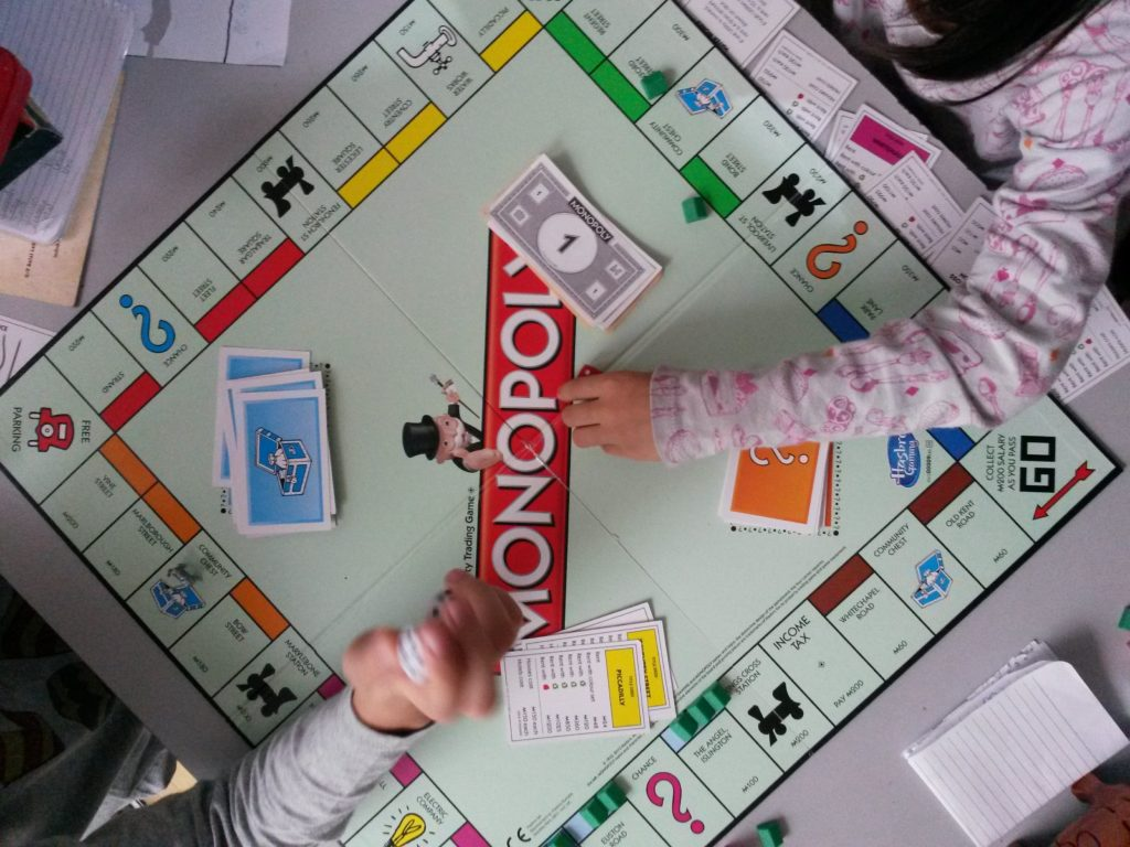 A friendly game of Monopoly  is not only fun, but can also hone foundational Math skills, money management skills, and sportsmanship.