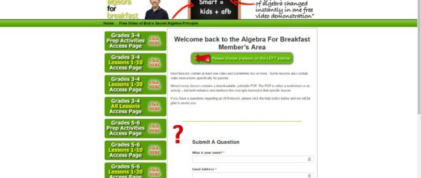 Review: Algebra for Breakfast